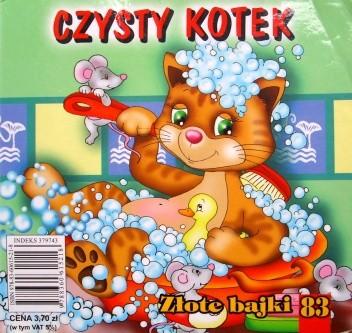 Okładka książki Czysty kotek