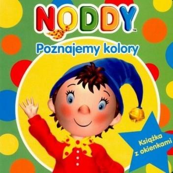 Okładka książki Noddy. Poznajemy kolory