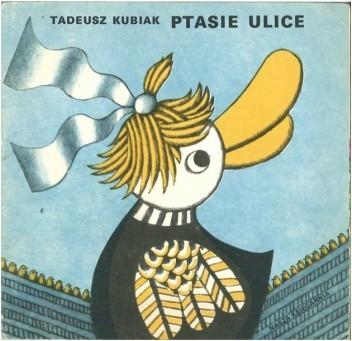 Okładka książki Ptasie ulice
