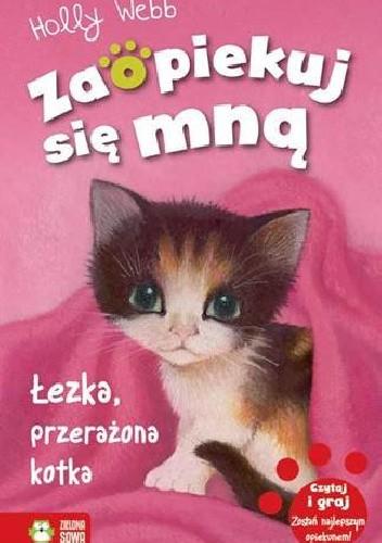 Okładka książki Łezka, przerażona kotka