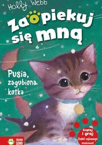 Okładka książki Pusia, zagubiona kotka