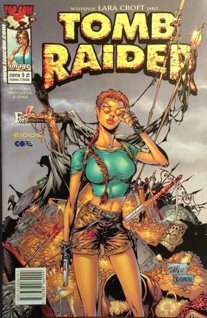 Okładka książki Tomb Raider 4/2002