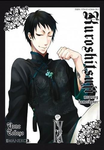 Okładka książki Kuroshitsuji Tom 9