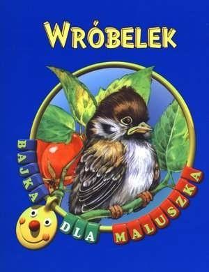 Okładka książki Wróbelek
