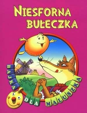 Okładka książki Niesforna bułeczka