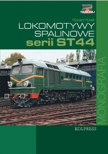 Okładka książki Lokomotywy spalinowe serii ST44