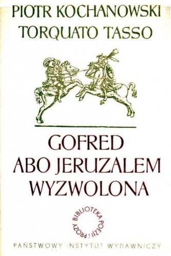 Okładka książki Gofred abo Jeruzalem wyzwolona