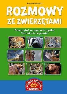 Okładka książki Rozmowy ze zwierzętami
