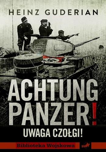 Okładka książki Achtung Panzer! Uwaga czołgi!