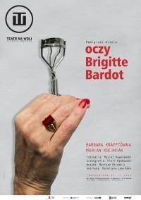 Okładka książki Oczy Brigitte Bardot