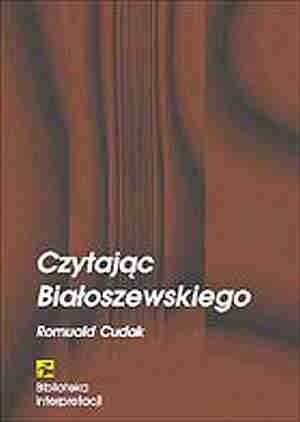 Okładka książki Czytając Białoszewskiego