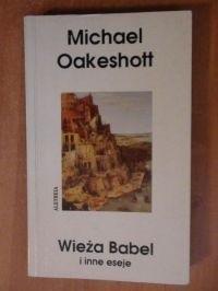 Okładka książki Wieża Babel i inne eseje