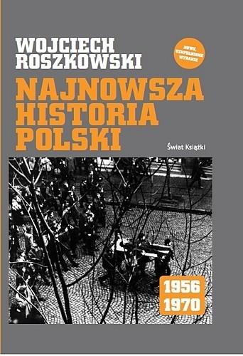 Okładka książki Najnowsza historia Polski 1956-1970