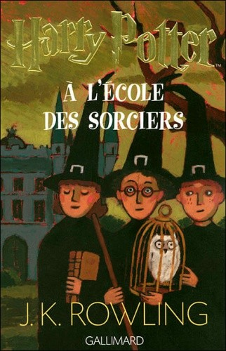Okładka książki Harry Potter à l'Ecole des Sorciers