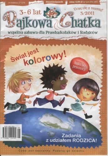 Okładka książki Bajkowa Chatka nr 3/2011