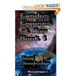 Okładka książki Exodus: Empires at War Book 1