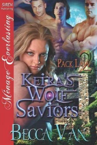 Okładka książki Keira's Wolf Saviors