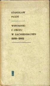 Okładka książki Wspominki z obozu w Sachsenhausen