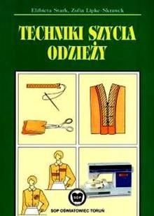 Okładka książki Techniki szycia odzieży