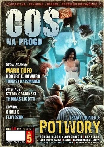 Okładka książki Coś na Progu nr 5 / listopad-grudzień 2012