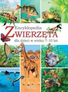 Okładka książki Zwierzęta. Encyklopedia dla dzieci w wieku 7-10 lat