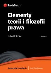 Okładka książki Elementy teorii i filozofii prawa