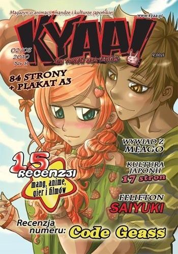 Okładka książki Kyaa! nr 8