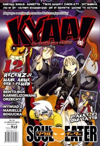 Okładka książki Kyaa! nr 24