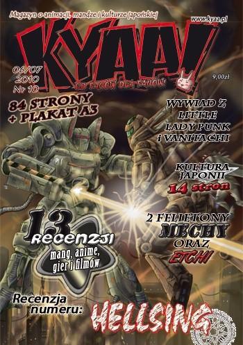 Okładka książki Kyaa! nr 10