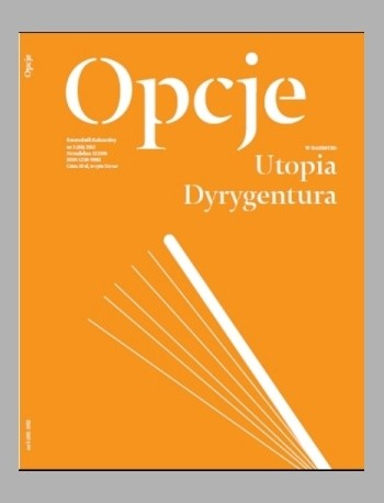 Okładka książki Opcje. Kwartalnik kulturalny, nr 3/ 2013