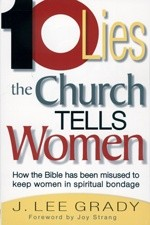 Okładka książki 10 lies Church tells women