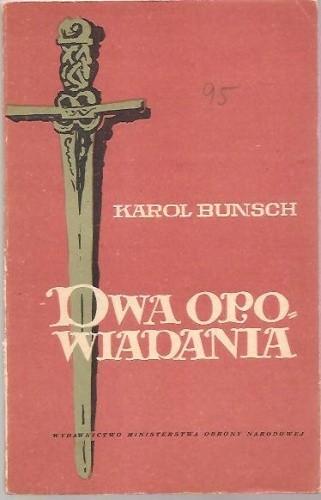 Okładka książki Dwa opowiadania