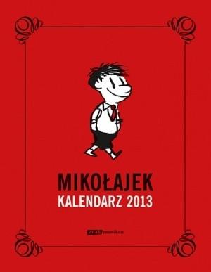Okładka książki Mikołajek. Kalendarz książkowy 2013
