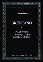 Okładka książki Psychologia z empirycznego punktu widzenia