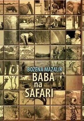 Okładka książki Baba na safari