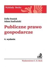 Okładka książki Publiczne prawo gospodarcze