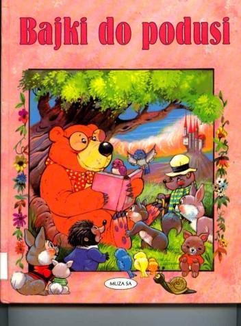 Okładka książki Bajki do podusi