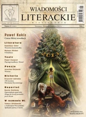 Okładka książki Wiadomości Literackie, nr 2/2013