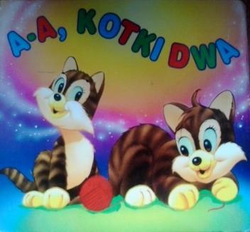 Okładka książki A-a, kotki dwa