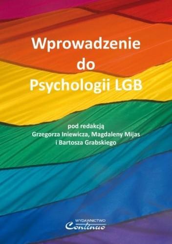 Okładka książki Wprowadzenie do Psychologii LGB