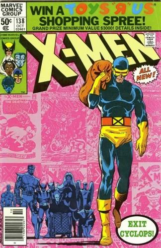 Okładka książki Uncanny X-Men Vol 1 #138