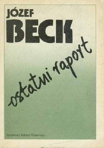 Okładka książki Ostatni raport