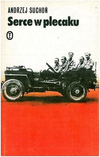 Okładka książki Serce w plecaku. Wspomnienia z lat wojny