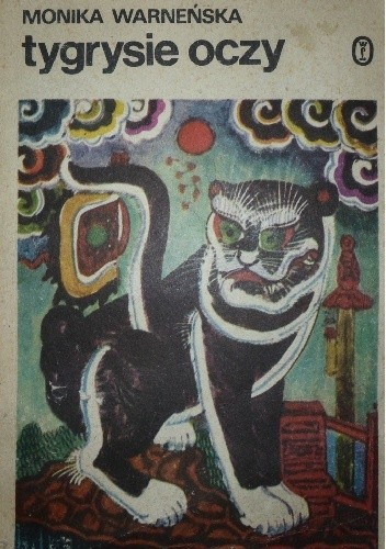 Okładka książki Tygrysie oczy