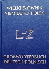 Okładka książki Wielki słownik niemiecko-polski, t2 L-Z