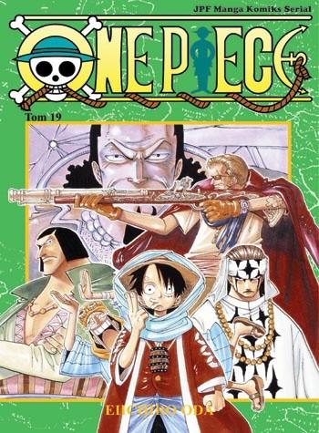 Okładka książki One Piece tom 19 - Fala rebelii