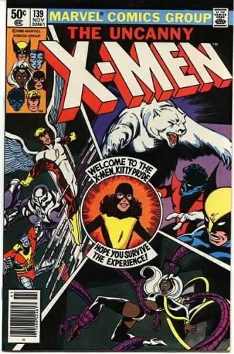 Okładka książki Uncanny X-Men Vol 1 #139