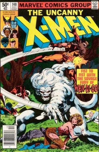 Okładka książki Uncanny X-Men Vol 1 #140