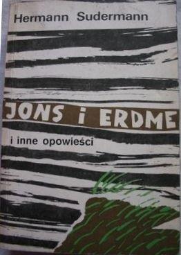 Okładka książki Jons i Erdme i inne opowieści