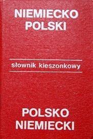 Okładka książki Kieszonkowy słownik niemiecko-polski, polsko-niemiecki